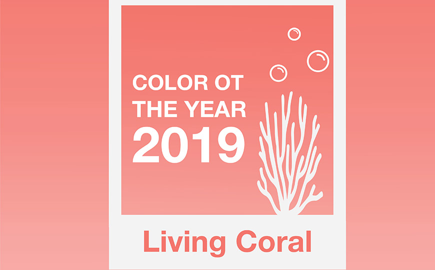 Living Coral – Farbe des Jahres 2019