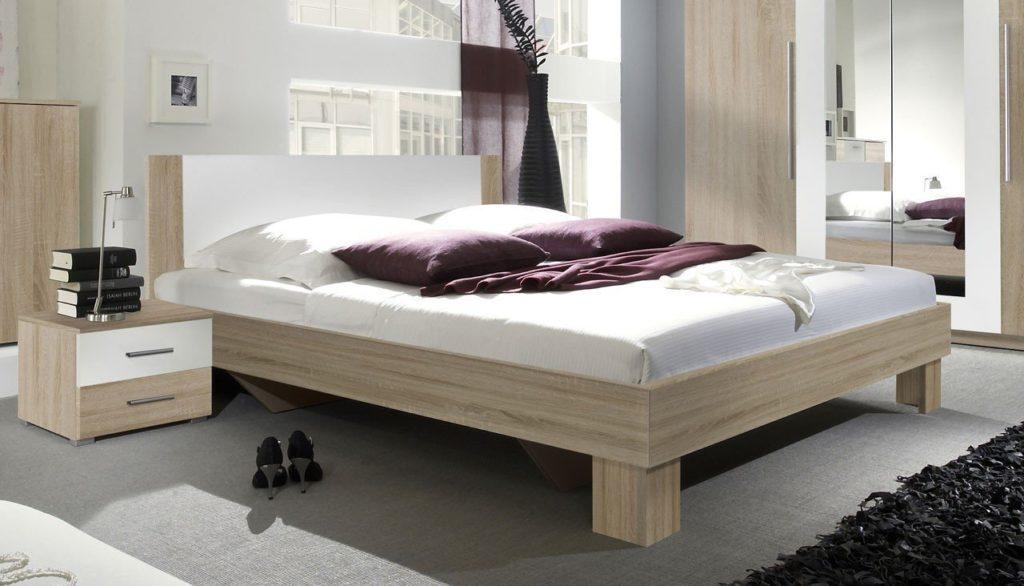 holzähnliches Bett