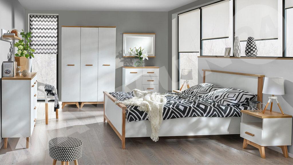 Schlafzimmerset im skandinavischen Stil