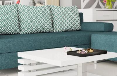 Das Sofa – eine Lösung für kleinere und größere Räume.