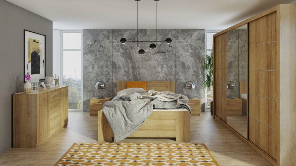 Schlafzimmer-Set Kler IX