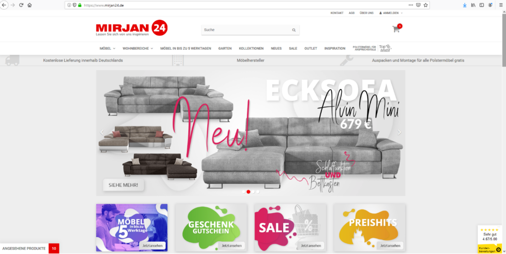 mirjan24 - Internet-Shop